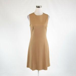 Beige THEORY A-line dress 10